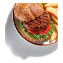 BEEF PATTY THICK-N-JUICY 80/20 3-1 15/LB