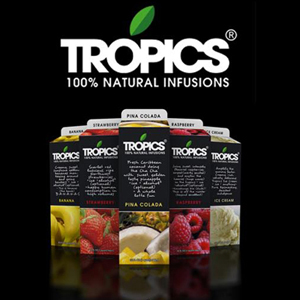 Tropics Drink Mix Margarita 12/32oz